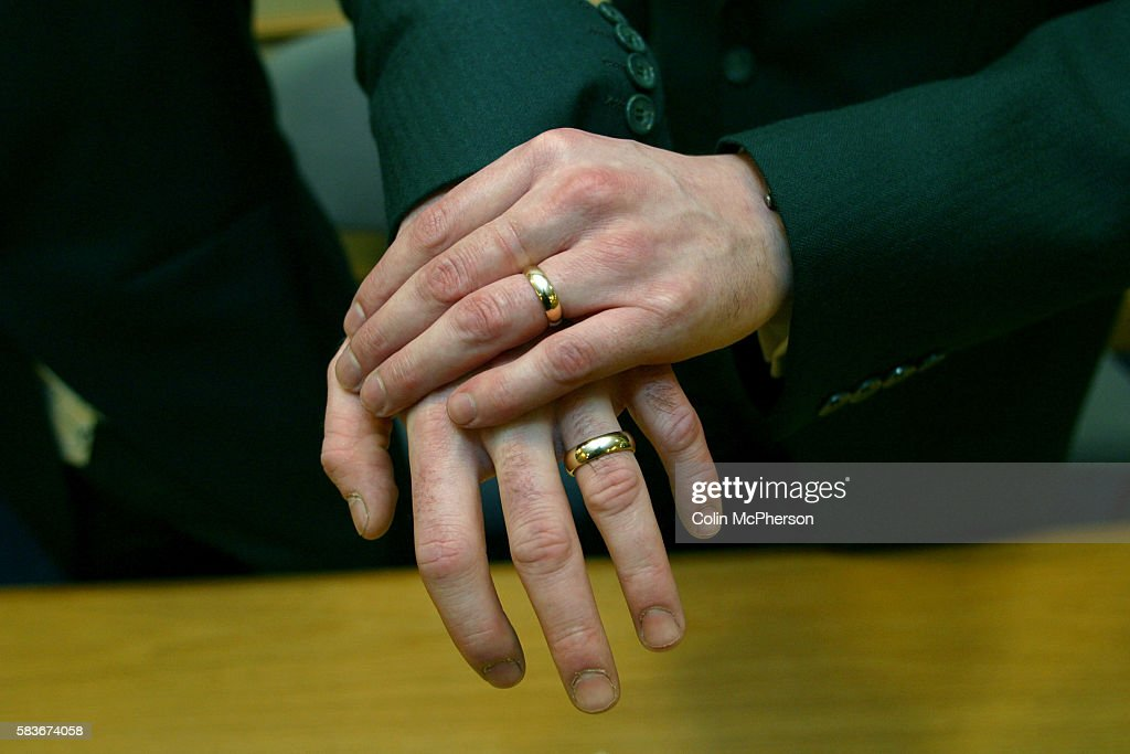 Gay Wedding in Manchester Pictures Getty Images