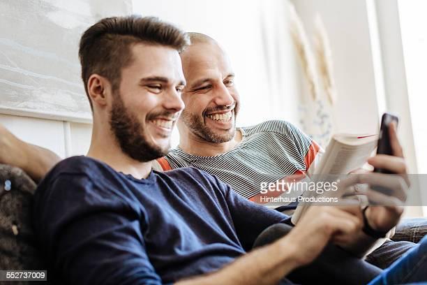 Gay Couple Having Enjoying Togetherness