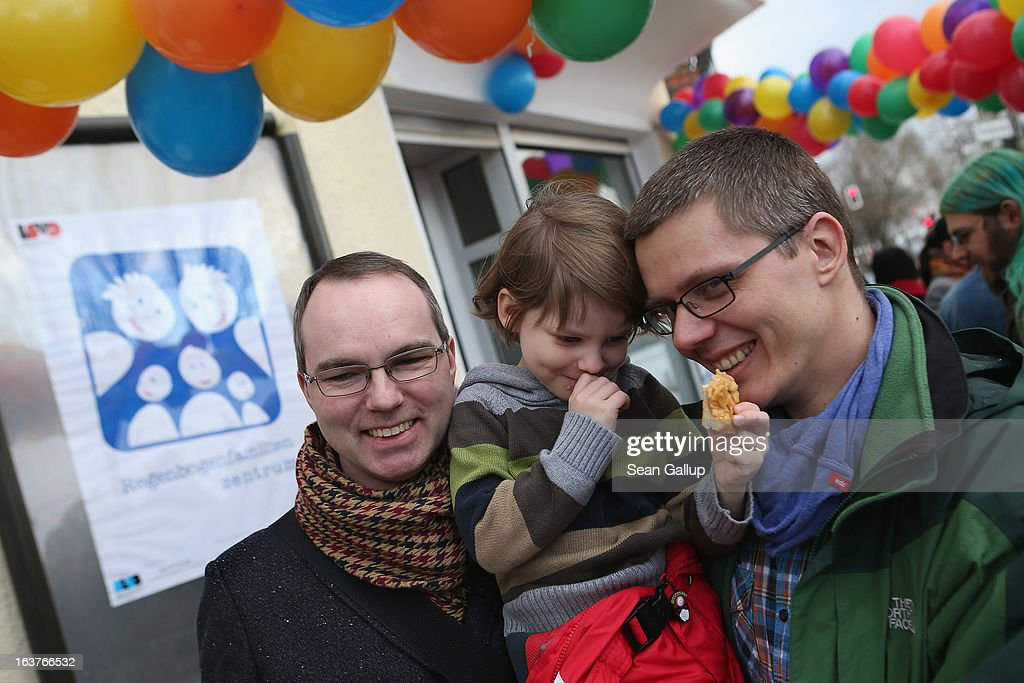 Germany's First Gay Parent Counseling Center Opens : News Photo