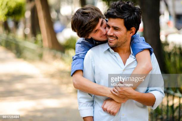 gay couple. - handsome mexican men stock pictures, royalty-free photos & images