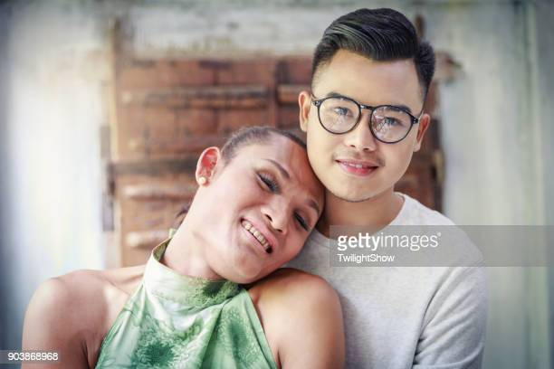 gay love couple - transgender man stock photos and pictures