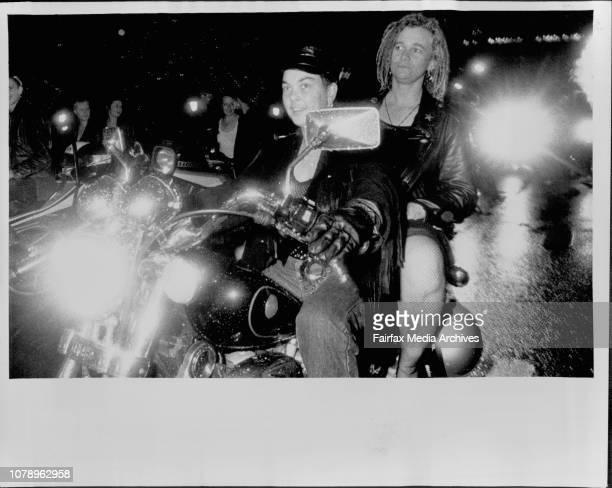 Gay Mardi Gras in Sydney. February 17, 1990. .