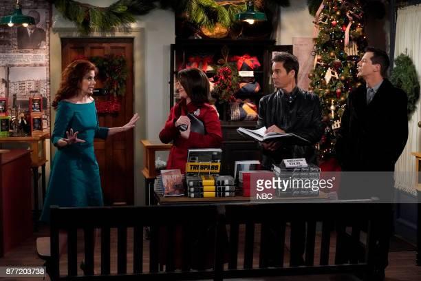 WILL GRACE 'A Gay Olde Christmas' Episode 109 Pictured Debra Messing as Grace Adler Megan Mullally as Karen Walker Eric McCormack as Will Truman Sean...
