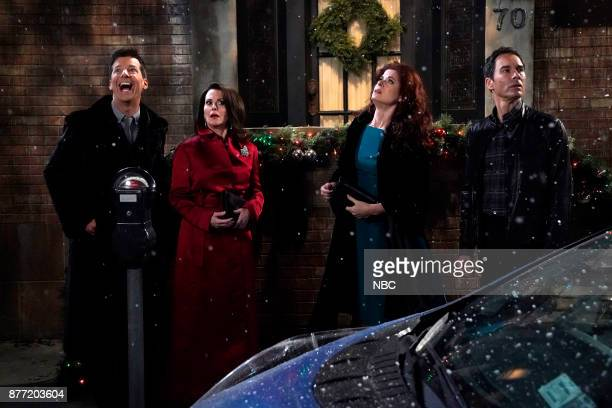 WILL GRACE 'A Gay Olde Christmas' Episode 109 Pictured Sean Hayes as Jack McFarland Megan Mullally as Karen Walker Debra Messing as Grace Adler Eric...