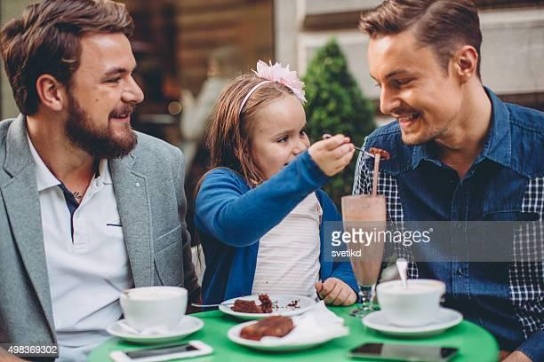 Gay Eltern und Tochter