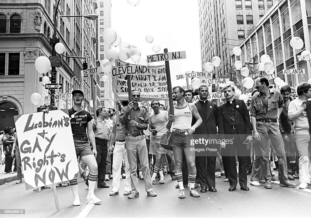 Gay Pride demonstration... : News Photo