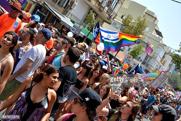 Gay-pride-parade in Tel Aviv, 2016