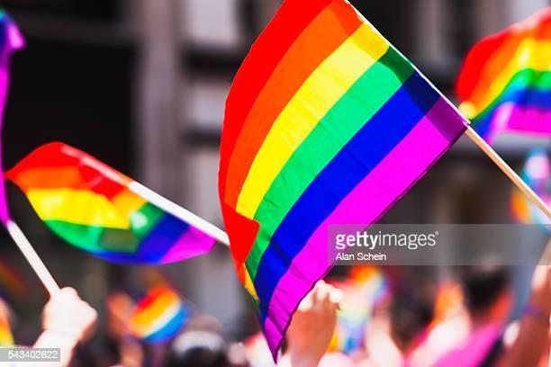 gay pride parade nyc , june 26th, 2016 - intersexual fotografías e imágenes de stock