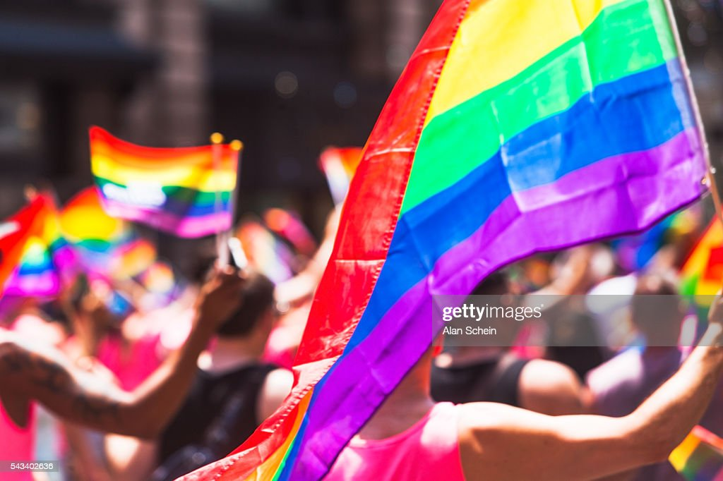 Gay Pride parade nyc , june 26th, 2016 : ストックフォト