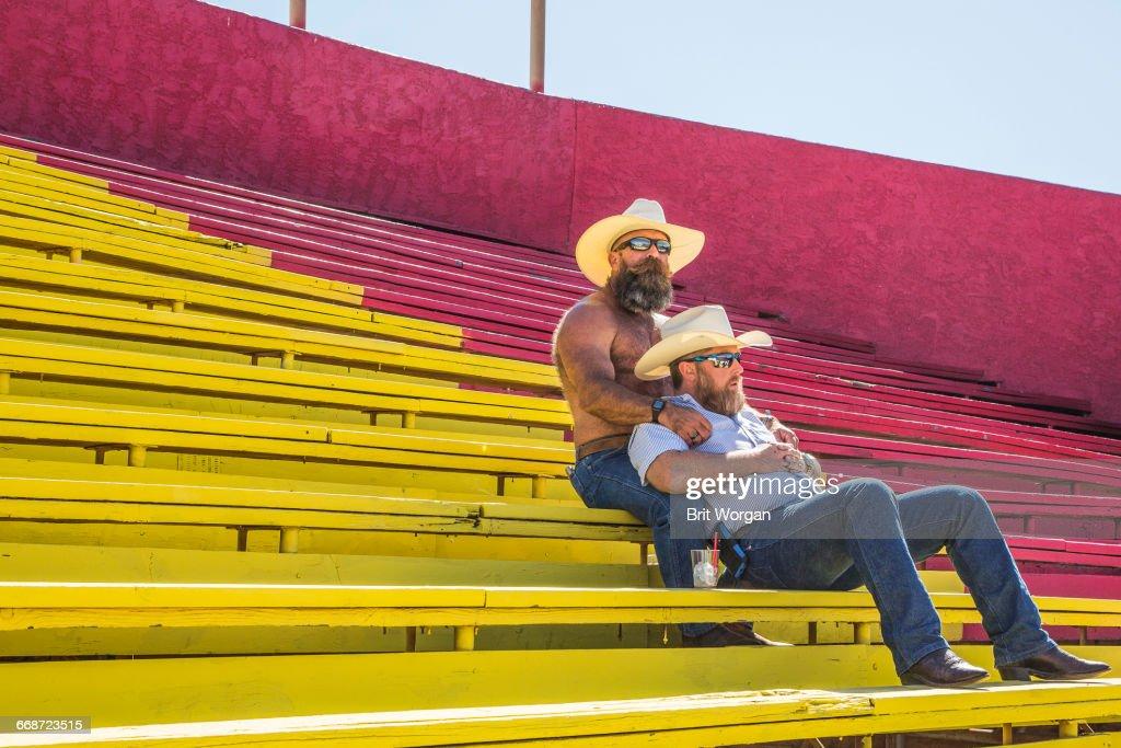 Gay Rodeo : Stock Photo