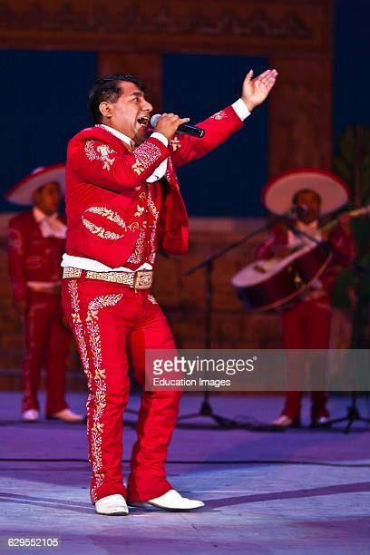 A Gay Singer Performs As The Opening Act For The Danaji The Legend Performance As Part Of The Guelaguetza Festival Oaxaca Mexico