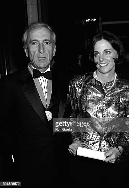 Gay Talese and Nan Talese attend A Decade of Literary Lions Benefit Gala on November 8 1990 at the New York Public Library in New York City
