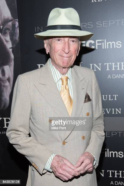 Gay Talese attends the Rebel in the Rye New York Premiere at Metrograph on September 6 2017 in New York City