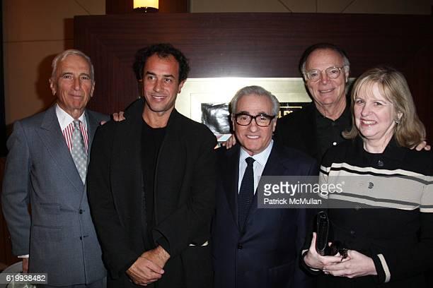 Gay Talese Matteo Garrone Martin Scorsese Nick Pileggi and Helen Morris attend A Private Screening of IFC Films GOMORRA at Dolby Screening...