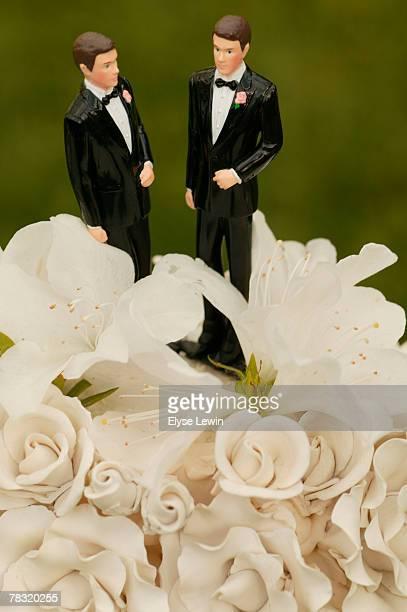 Gay wedding cake figurines