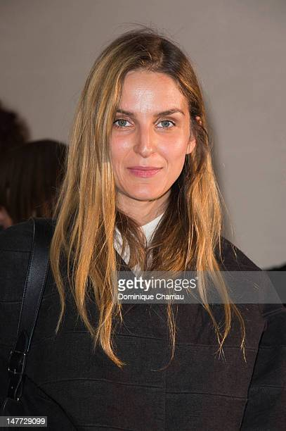 Gaya Repossi attends the Christian Dior Haute-Couture Show as part of Paris Fashion Week Fall / Winter 2013 on July 2, 2012 in Paris, France.