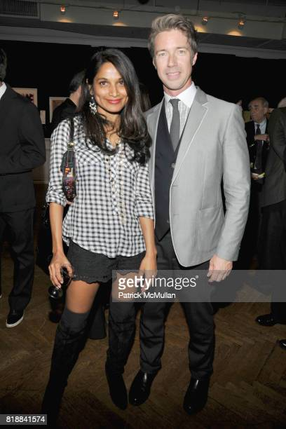 Gayatri Devi and Thomas Woltz attend BOMB Magazine's 29th Anniversary Gala and Silent Auction at The National Arts Club on April 27, 2010 in New York...