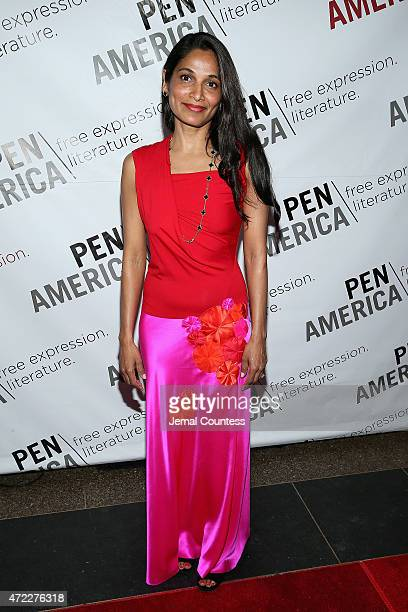 Gayatri Devi attends the PEN American Center Literary Gala at American Museum of Natural History on May 5, 2015 in New York City.