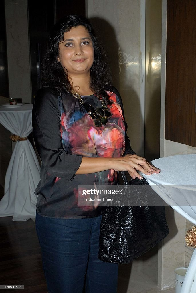 Gayatri Ruia Director Palladium during the launch of Dr Dinyar Workingboxwalla`s book `Beauty Unleashed A comprehensive guide to getting perfect...