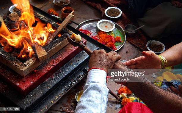 Gayatri Yagna In its gross form, Yagna is a spiritual experiment of sacrificing and sublimating the havana saamagri in the fire accompanied by the...