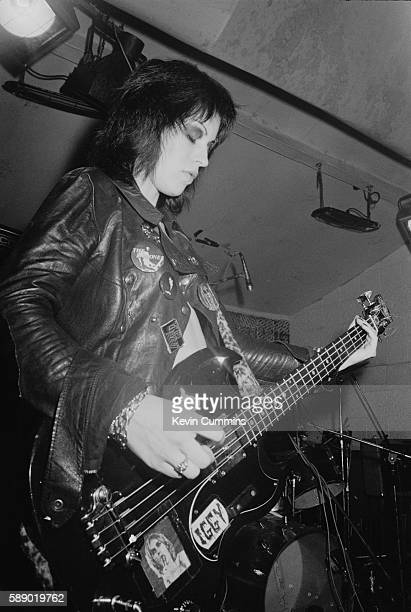 Gaye Advert of the Adverts performs at the Electric Circus in Manchester 28th August 1977