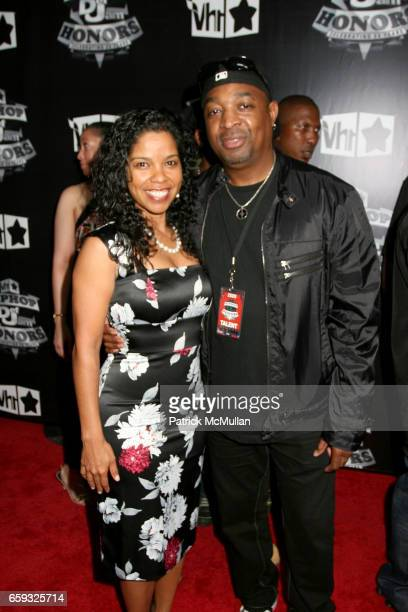Gaye Theresa Johnson and Chuck D attend VH1 HIP HOP HONORS Taping 2009 at BAM on September 23 2009 in New York City