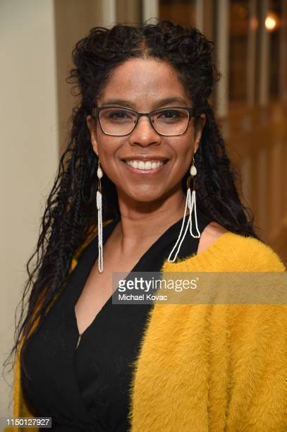 Gaye Theresa Johnson attends the Los Angeles premiere of Toni Morrison The Pieces I Am on June 14 2019 in West Hollywood California