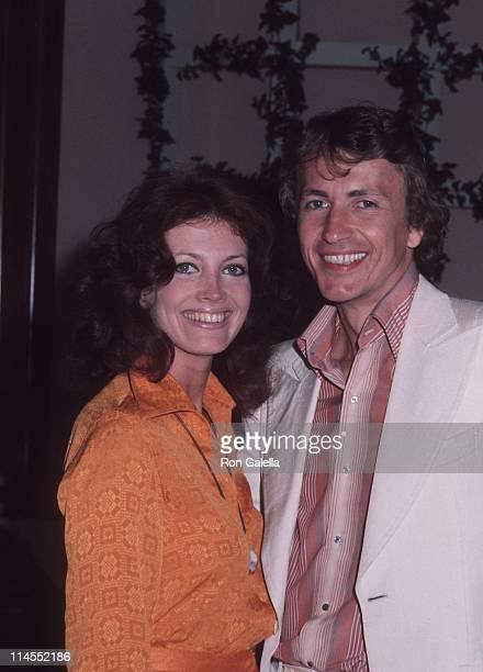 Gayle Hunnicutt and Richard Evans during Gayle Hunnicutt Sighting at the Beverly Hills Hotel March 28 1986 at Beverly Hills Hotel in Beverly Hills...