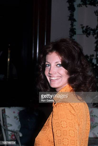 Gayle Hunnicutt during Gayle Hunnicutt Sighting at the Beverly Hills Hotel March 28 1986 at Beverly Hills Hotel in Beverly Hills California United...