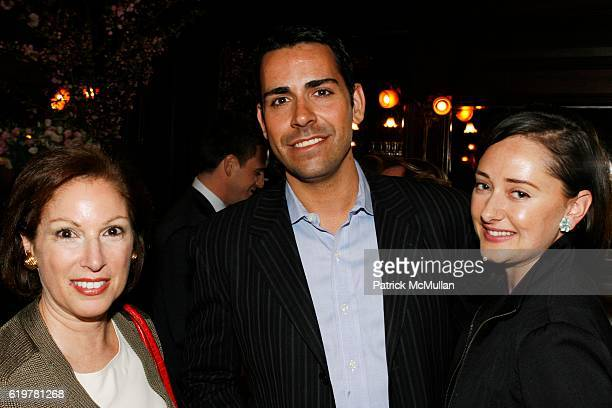 Gayle Karr Brian Babst and Jennifer Bell attend LEIGHTON CANDLER and FLANK DEVELOPMENT Host Cocktail Soiree Celebrating 441 East 57th Street at La...