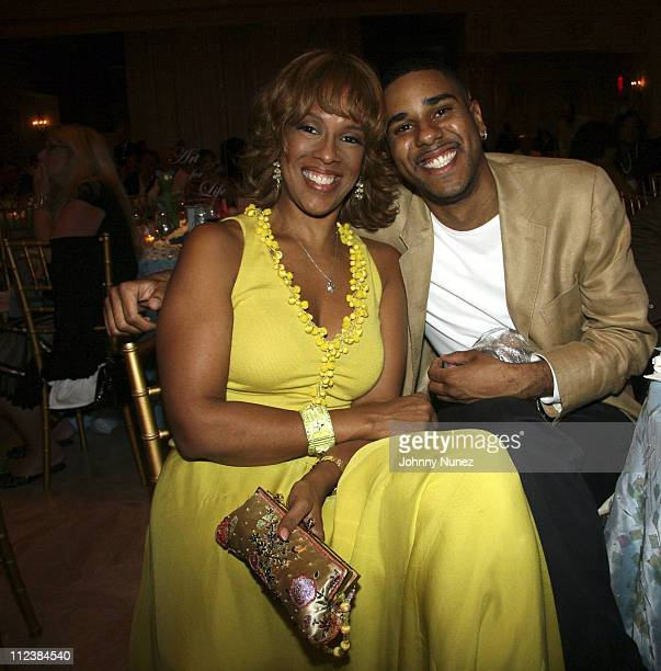 Gayle King and BJ Coleman during Russell Simmons' 2nd Annual Art for Life  Benefit at