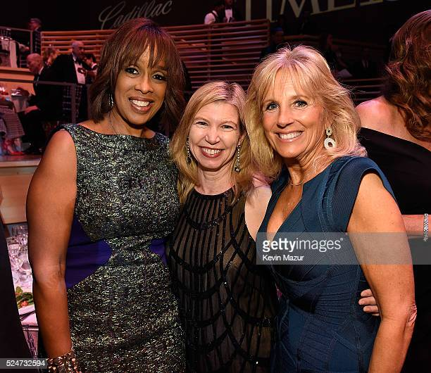 Gayle King and Second Women Dr Jill Biden attend the 2016 Time 100 Gala Time's Most Influential People In The World at Jazz At Lincoln Center at the...