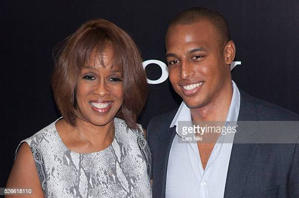 Gayle King and William Bumpus Jr attend The Monuments Men Premiere at the Ziegfeld Theater in New York City �� LAN