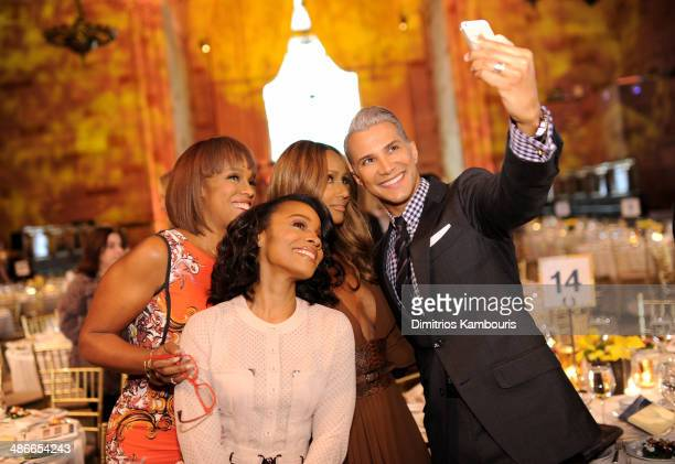 Gayle King, Anika Noni Rose, Iman and Jay Manuel attend Variety Power Of Women: New York presented by FYI at Cipriani 42nd Street on April 25, 2014...