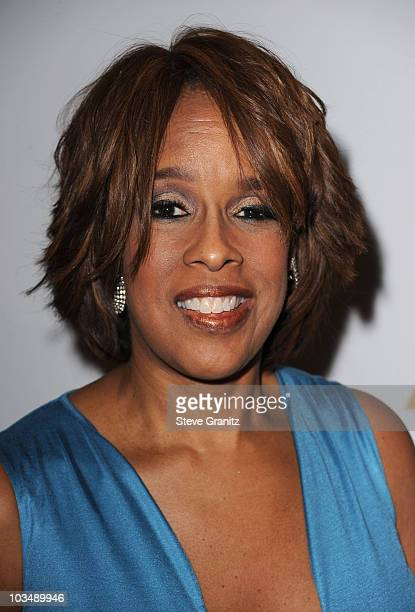 Gayle King arrives at the 52nd Annual GRAMMY Awards Salute To Icons Honoring Doug Morris held at The Beverly Hilton Hotel on January 30 2010 in...