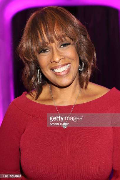 Gayle King attends Common's 5th Annual Toast to the Arts at Ysabel on February 22 2019 in West Hollywood California