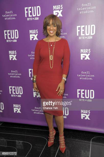 Gayle King attends 'Feud' Tastemaker lunch at The Rainbow Room on February 14 2017 in New York City