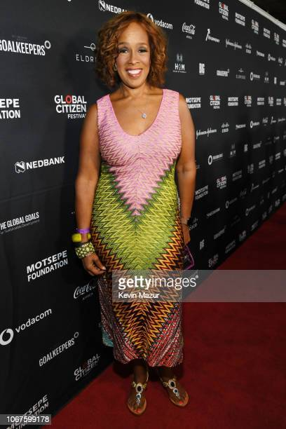 Gayle King attends Global Citizen Festival Mandela 100 at FNB Stadium on December 2 2018 in Johannesburg South Africa