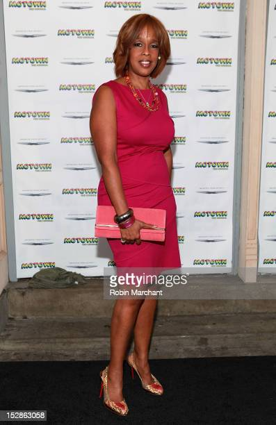 Gayle King attends Motown The Musical Broadway Spring Launch Event at Nederlander Theatre on September 27 2012 in New York City