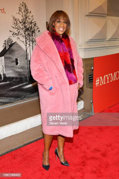 Gayle King attends opening night of To Kill A Mocking Bird at the Shubert Theatre on December 13 2018 in New York City