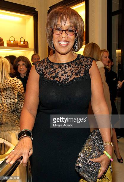 Gayle King attends Ralph Lauren Presents Exclusive Screening Of Hitchcock's To Catch A Thief Celebrating The Princess Grace Foundation at Ralph...