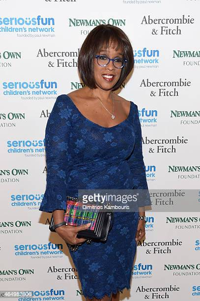 Gayle King attends SeriousFun Children's Network's New York City Gala at Avery Fisher Hall Lincoln Center on March 2 2015 in New York City
