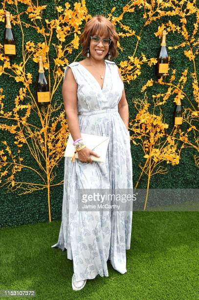 Gayle King attends the 12th Annual Veuve Clicquot Polo Classic at Liberty State Park on June 01 2019 in Jersey City New Jersey