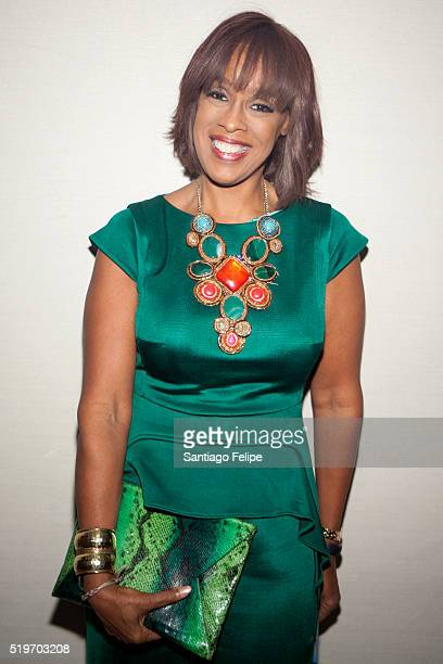 Gayle King attends the 2016 Dress For Success Give Confidence Hope Style Gala at Grand Hyatt New York on April 7 2016 in New York City