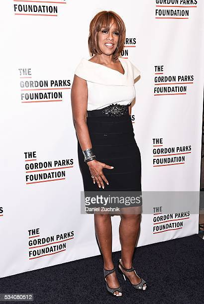 Gayle King attends the 2016 Gordon Parks Foundation Awards Dinner at Cipriani 42nd Street on May 24 2016 in New York City