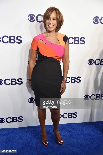 Gayle King attends the 2017 CBS Upfront on May 17 2017 in New York City