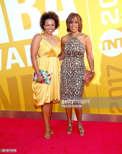 Gayle King attends the 2017 NBA Awards at Basketball City Pier 36 South Street on June 26 2017 in New York City