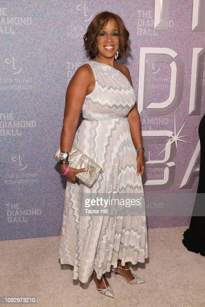 Gayle King attends the 2018 Diamond Ball at Cipriani Wall Street on September 13 2018 in New York City