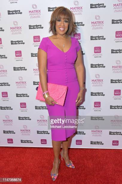 Gayle King attends the 2019 Matrix Awards at the Sheraton New York Times Square on May 06 2019 in New York City