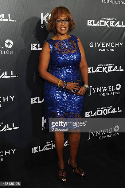 Gayle King attends the 9th annual Keep A Child Alive Black Ball at Hammerstein Ballroom on October 30 2014 in New York City
